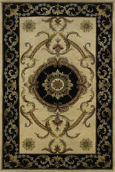 Momeni Harmony Ha-24 Black Area Rug
