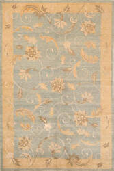 Momeni Lotus Lt-01 Light Blue Area Rug