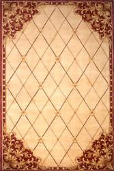 Momeni Maison Ma-15 Burgundy Area Rug