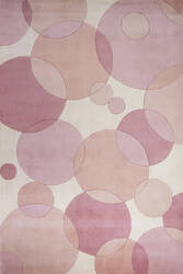 Momeni New Wave Nw-37 Pink Area Rug