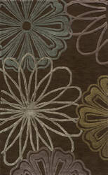 Momeni Sensations Sen-2 Brown Area Rug