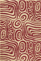 Momeni Soleil So-10 Red Area Rug
