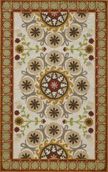 Momeni Suzani Hook Szi-2 Red Area Rug