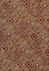 Momeni Vista Va-02 Red Area Rug