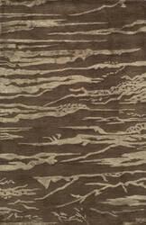 Momeni Zen Zen-2 Brown Area Rug