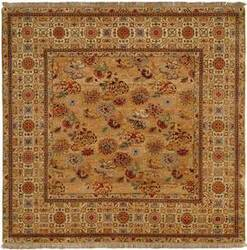 Natures Loom Asia Hotan Medium Gold/Creme Area Rug