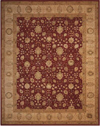 Nourison 3000 3102 Red Area Rug