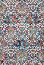 Nourison Global Vintage Glb06 Ivory - Blue Area Rug