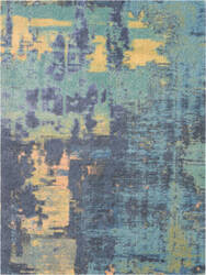 Nourison Abstract Shag Abs03 Multicolor Area Rug