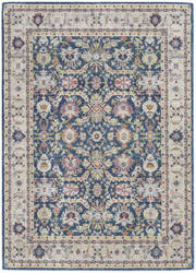 Nourison Ankara Global Anr13 Navy - Multicolor Area Rug