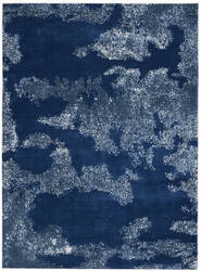 Nourison Etchings Etc03 Blue Area Rug