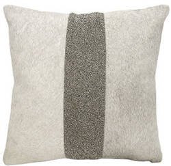 Nourison Mina Victory Pillows A0024 Grey Pewter