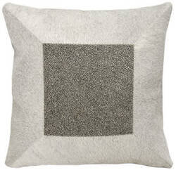 Nourison Mina Victory Pillows A0026 Grey Pewter