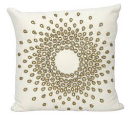 Nourison Mina Victory Pillows A0140 Bronze