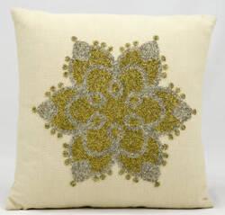 Nourison Pillows Luminescence A2754 Beige