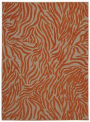 Nourison Aloha Alh04 Orange Area Rug
