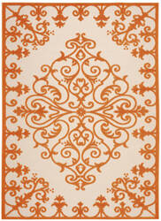 Nourison Aloha Alh12 Orange Area Rug