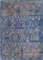 Nourison Ankara Global Anr08 Navy - Multicolor Area Rug