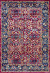 Nourison Ankara Global Anr02 Red Area Rug