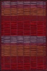 Nourison Aspects AP-12 Burgundy Area Rug