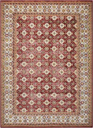 Nourison Aria Ar002 Red Area Rug