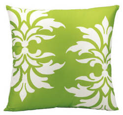 Nourison Outdoor Pillow As065 Apple Green