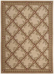 Nourison Ashton House AS-09 Beige Area Rug