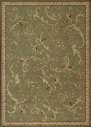 Nourison Ashton House AS-11 Olive Area Rug