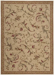 Nourison Ashton House AS-11 Beige Area Rug
