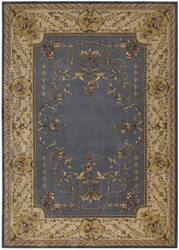 Nourison Ashton House AS-30 Blue Area Rug