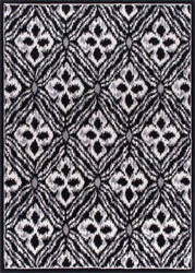 Nourison Atash Ata01 Black Area Rug