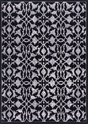 Nourison Atash Ata02 Black Area Rug