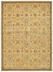 Kathy Ireland Babylon Bab01 Gold Area Rug