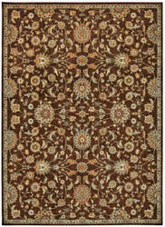 Kathy Ireland Babylon Bab05 Brown Area Rug