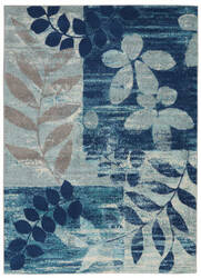 Nourison Tranquil Tra01 Navy - Light Blue Area Rug