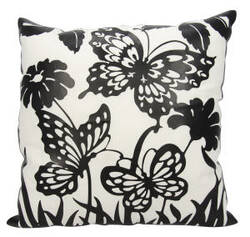 Nourison Luminescence Pillow Bt001 Black