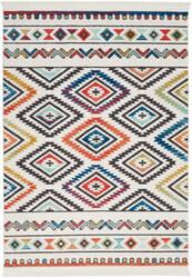 Nourison Tribal Decor Trl06 White Area Rug