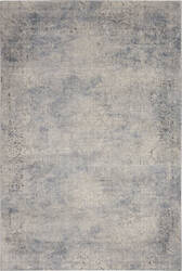 Nourison Rustic Textures Rus09 Ivory - Light Blue Area Rug