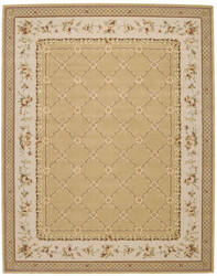 Nourison Grand Chalet CL-03 Gold Area Rug