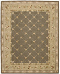 Nourison Grand Chalet CL-03 Green Area Rug