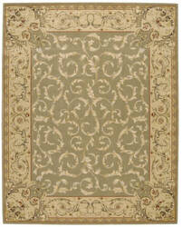 Nourison Grand Chalet CL-05 Light Green Area Rug
