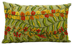 Nourison Pillows Fantasia Cm124 Green
