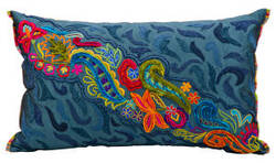 Nourison Pillows Fantasia Cm215 Ocean