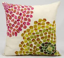 Nourison Pillows Fantasia Cm672 Ivory
