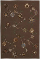 Nourison Contour CON-05 Brown Area Rug