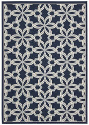 Nourison Carribean Crb05 Navy Area Rug