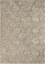 Nourison Deco Mod Dec01 Grey - Ivory Area Rug