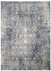 Kathy Ireland Moroccan Celebration Ki3m1 Slate Area Rug