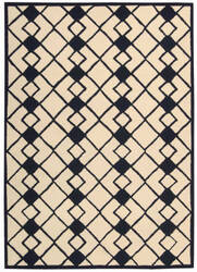 Nourison Decor Der03 Ivory - Navy Area Rug