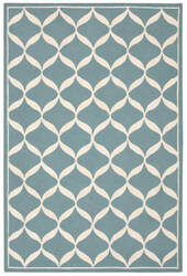 Nourison Decor Der06 Aqua White Area Rug